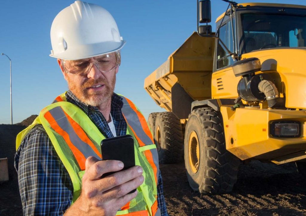 Equipment Rental ERP on Mobile Device